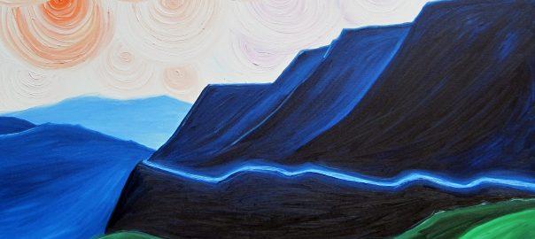 The Mountain Pass by Annie Swarm Guldberg